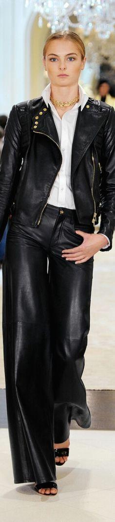 Ralph Lauren ※ #leather