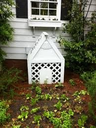 how to hide an air conditioner wall unit outside - Google Search