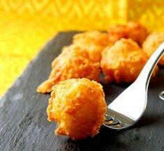 Friteeritud juustupallid
