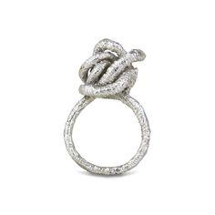 Knot ring Knot, Jewellery, Bracelets, Rings, Products, Fashion, Moda, Knots, Jewels