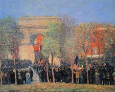American Realism, American Artists, Renoir, William Glackens, Ashcan School, Boston Museums, American Impressionism, Washington Square Park, Williams James