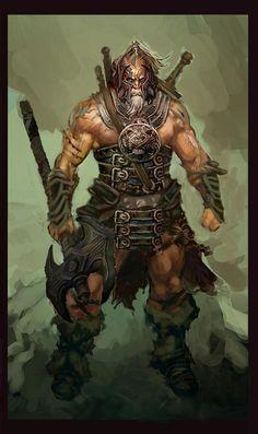 Barbarian Warrior, Veteran