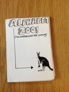 Alphabet zoo... the Australians are coming issue