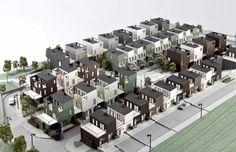 Kjellander + Sjöberg Architects - Fittja Terraces - Physical model