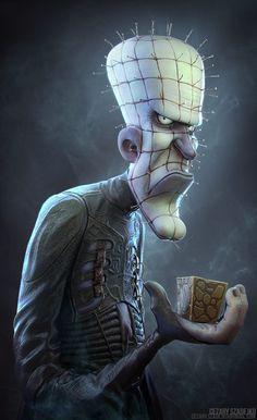 Pinhead by Cezary Szadejko