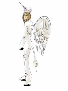 For a totally meta costume, go as Taylor Swift as Pegacorn.