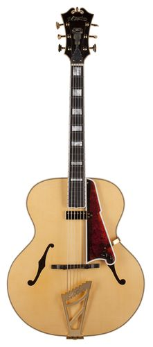 D'Angelico Guitars USA 1942 Master Builder Series Natural