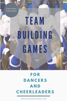 Great team bonding games for cheer teams and dance teams to increase team cohesion. Good ideas for high school dance teams or college dance teams! Cheer Games, Team Bonding Activities, Team Games, Rally Games, Sports Games, Cheer Tryouts, Cheer Coaches, Team Cheer, Cheer Mom