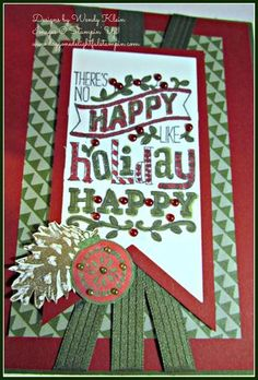 Happy Holiday (4)  Stampin' Up!
