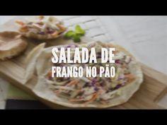 Salada de frango no pão | Receitas Saudáveis - Lucilia Diniz - YouTube