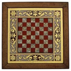 Reverse-Painted  Glass Checkerboard | VMF - Wall Decor | One Kings Lane