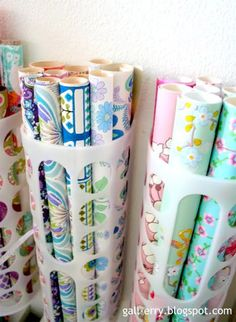 25+Ways+To+Organize+Your+Gift+Wrapping+-+One+Good+Thing+by+Jillee