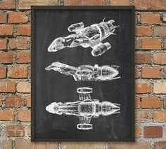 Serenity/Firefly Wall Art Poster by QuantumPrints on Etsy