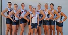 US Women's Eight Olympic team 2012 - 6 of which are previous gold medal winners
