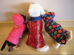 Is your pooch prepared for spring showers? If not, Fido Park Avenue has you covered! With plenty of cute rain coats, rain slickers, and even some puppy ponchos, we'll make sure your dog stays dry all season long!