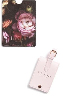 TED BAKER Luggage Tag & Passport Holder. #tedbaker #