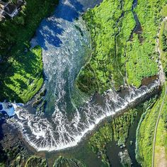 #featured @valdis.skudre.photography check out this unique point of view of this waterfall in Europe.  Have a great Summer Solstice! #SpaceCityDrones #Dronesdaily #aerialphoto #dronephotography #drones #kuldiga #ventasrumba #waterfall #baltic #bestofbaltic  #latvia #lv #latvija #latvia #vscocam #vscogram #goodvibes  #love #sea #beach #summer #sunset #dji #djiphantom #phantom3 #P3A #drone #drones #sunset