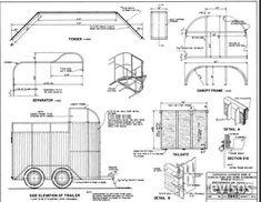Fabricar trailer batan para caballos