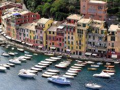 Город Портофино, Италия - Путешествуем вместе