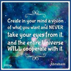 Focus on what you want....the having of it. You'll feel good about it. You have done your part. ....Then universe will align everything so it will transpire. Ask, Believe Receive