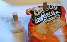 Keep your chips closed. | 37 Insanely Creative Things To Do With Popped Corks