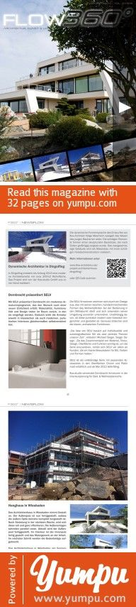 FLOW360° Magazin Q2/2012 - Magazine with 32 pages: E-Magazin für Architektur, Kunst & Lifestyle