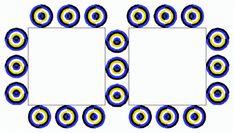 Spinning Bullseyes Optical Illusion