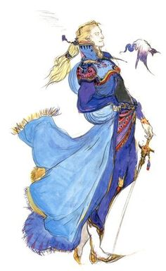 Edgar - Final Fantasy VI