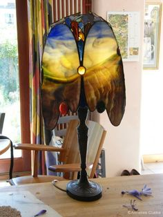 stained glass - Annelies Clarke