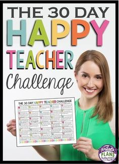 The 30 Day Happy Teacher Challenge