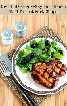 ... Kitchen®: Grilled Ginger-Soy Pork Chops or World's Best Pork Chops