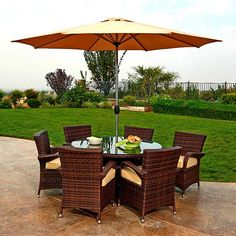 Perk up your patio or deck with a new outdoor dining set, fire pit, bar cart, and more! These are the essentials you need to host the best outdoor summer party.