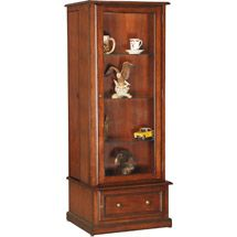 American Furniture Classics 10-gun/curio Slider Cabinet Combination