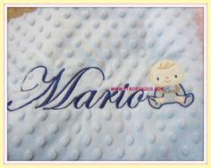 manta personalizada bebe, personalized baby blanket, couverture de bebe personnalisé, personalizsierte baby decker.