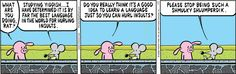 Pearls before Swine: Insults.... I literally have a book full of Yiddish insults!!