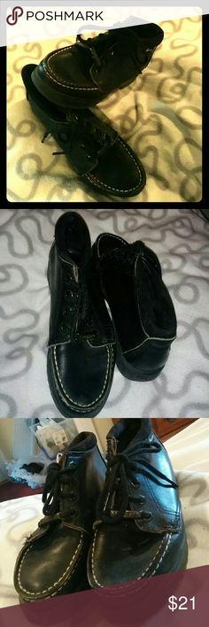 Eastland Booties Black comfortable Eastland booties shoes, low heels Eastland Shoes Ankle Boots & Booties