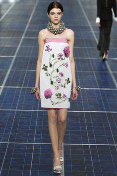 Bridesmaid's dresses for a garden wedding. Spring 2013 Chanel Collection