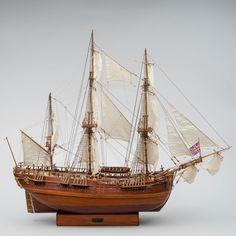 Laivan pienoismalli, H.M.S. ENDEAVOUR. Sailing Ships, Boat, Dinghy, Boats, Sailboat, Tall Ships, Ship