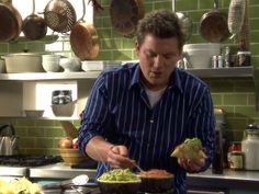 Mexican Pot Roast Tacos from Tyler Florence.  I made these last night and they were delicious!