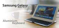 De Samsung Galaxy Note 10.1 aluminium keyboard is het perfecte accessoire om te gebruiken met een Samsung Galaxy Note 10.1. Dit specifieke Aluminium keyboard is ontworpen voor de gebruiker die zijn 'Note' actief gebruikt. Hij is gemaakt van hoge kwaliteit aluminium, en beschermt de tablet in elke omgeving. Eenmaal dichtgeklapt is de 'Note' en het keyboard eenvoudig mee te nemen! Nu slechts € 24,95!