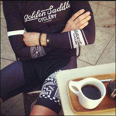 Golden Saddle Cycling Kit