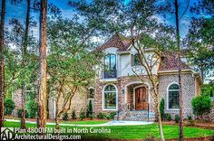 Architectural Designs 4 Bed House Plan 48001FM Client Built In North  Carolina. Ready When
