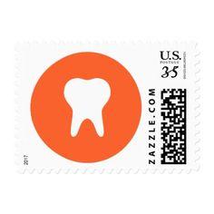Dentist Logo Icon Postage - stylish gifts unique cool diy customize