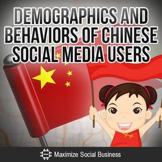 Demographics and Behaviors of Chinese Social Media Users