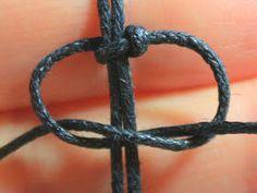 bekikilicious: Größenverstellbaren Verschluss für DIY Armbänder knoten