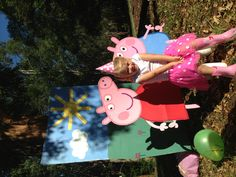 Peppa Pig Party Photo Booth