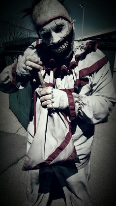 Twisty the clown by Rusty Sinner FX Ahs, Horror Stories, Joker, Pictures, Fictional Characters, Photos, The Joker, Fantasy Characters, Jokers