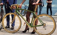 Bicycle style.