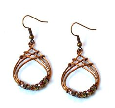 Lattice Loops Earrings | JewelryLessons.com