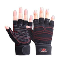 Elite Adult Fitness Training Half-finger Weight Lifting Gym Fitness Body Physical Fitness Glove Mens/Womens Workout Wrist Wrap Exercise Glove Weightlifting Stretch Strength Training Glove (Black, M) - http://www.exercisejoy.com/elite-adult-fitness-training-half-finger-weight-lifting-gym-fitness-body-physical-fitness-glove-menswomens-workout-wrist-wrap-exercise-glove-weightlifting-stretch-strength-training-glove-black-m/fitness/